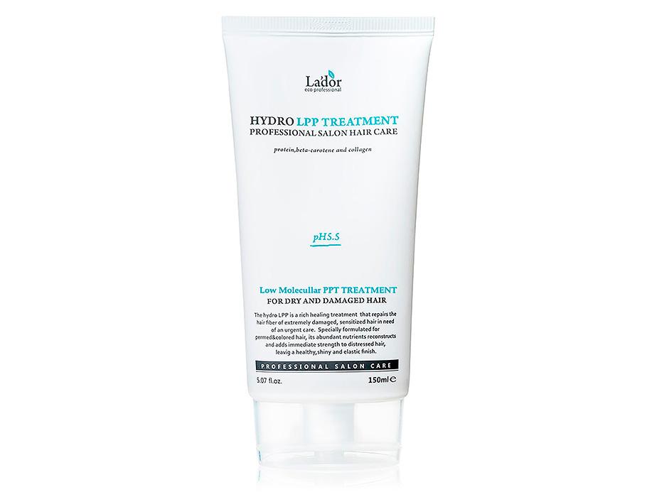 Экстра-восстанавливающая маска для поврежденных волос Lador Hydro LPP Treatment, 150мл