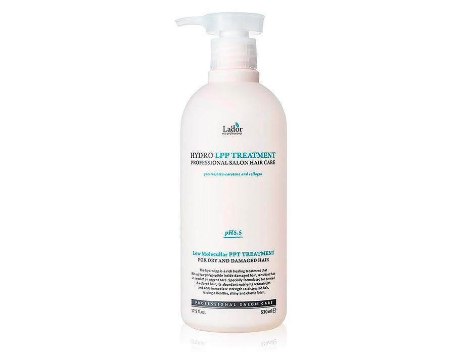 Экстра-восстанавливающая маска для поврежденных волос Lador Hydro LPP Treatment, 530мл