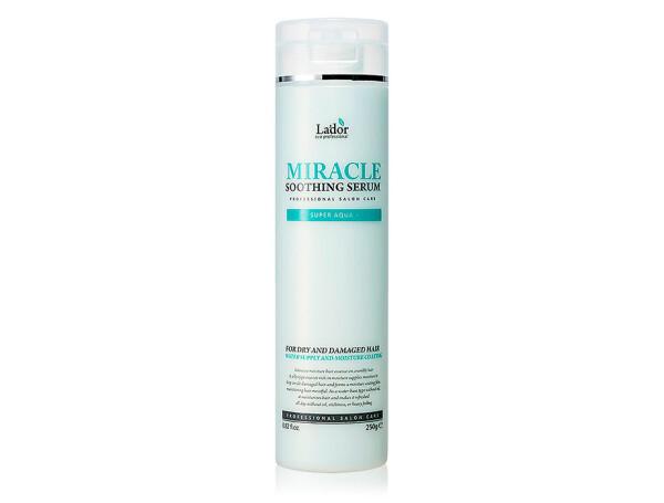 Ультраувлажняющая сыворотка для волос Lador Miracle Soothing Serum, 250г - Фото №1