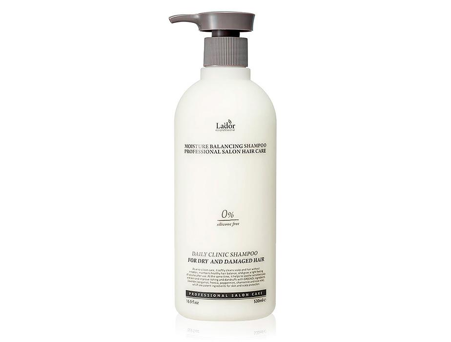 Увлажняющий шампунь для волос Lador Moisture Balancing Shampoo, 530мл