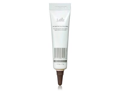 Спа пилинг очищающий для кожи головы Lador Scalp Scaling Spa Ampoule, 15г