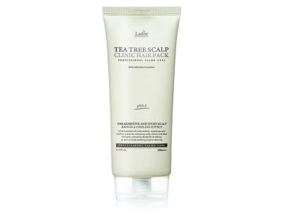 Очищающая маска-пилинг для волос и кожи головы Lador Tea Tree Scalp Clinic Hair Pack, 200мл - Фото №1