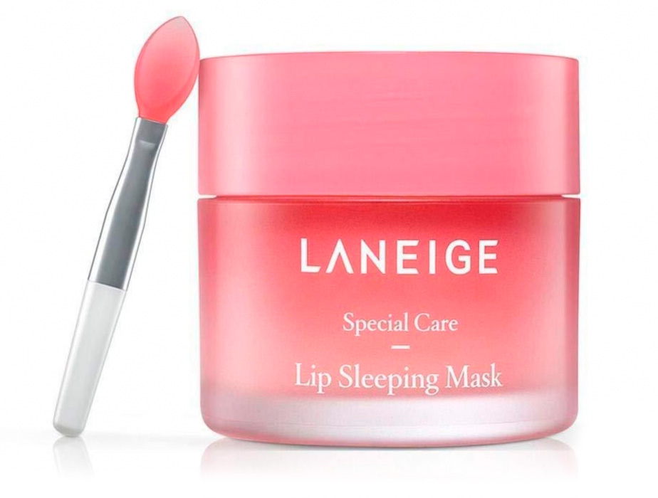 Ночная маска для губ Laneige Lip Sleeping Mask Berry, 20г - Фото №3