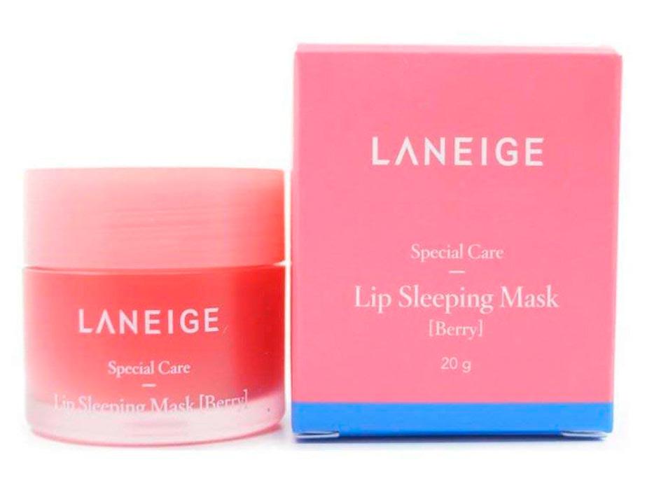 Ночная маска для губ Laneige Lip Sleeping Mask Berry, 20г - Фото №4