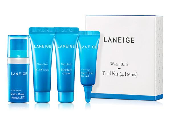 Набор мини версий для лица увлажняющий Laneige Water Bank Trial Kit - Фото №1