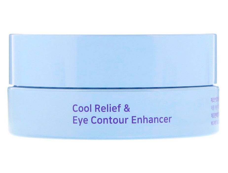 Гидрогелевые патчи под глаза с экстрактом агавы и черники Petitfee Agave Cooling Hydrogel Eye Mask, 60шт - Фото №3