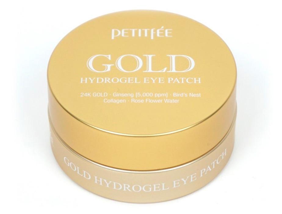 Гидрогелевые патчи под глаза с золотым комплексом +5 Petitfee Gold Hydrogel Eye Patch, 60шт - Фото №3