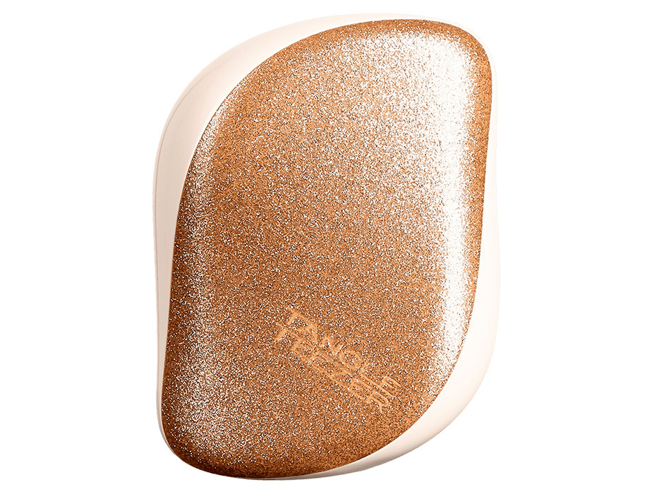 Расческа Tangle Teezer Compact Styler Glitter Gold Starlight - Фото №4