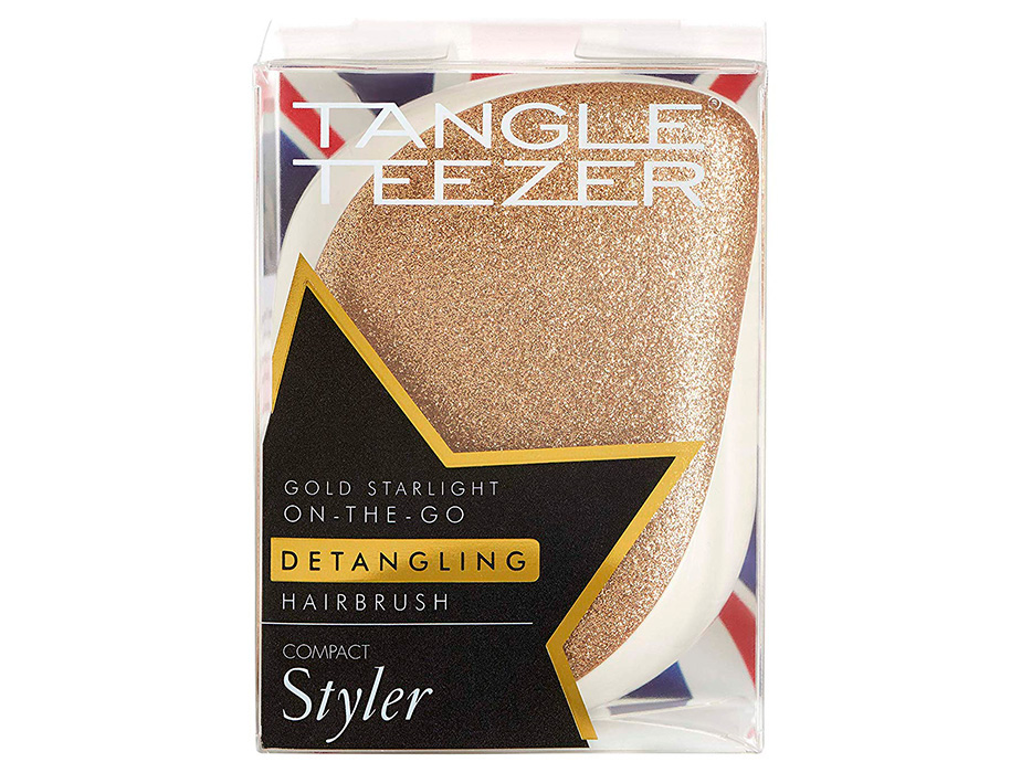 Расческа Tangle Teezer Compact Styler Glitter Gold Starlight - Фото №8