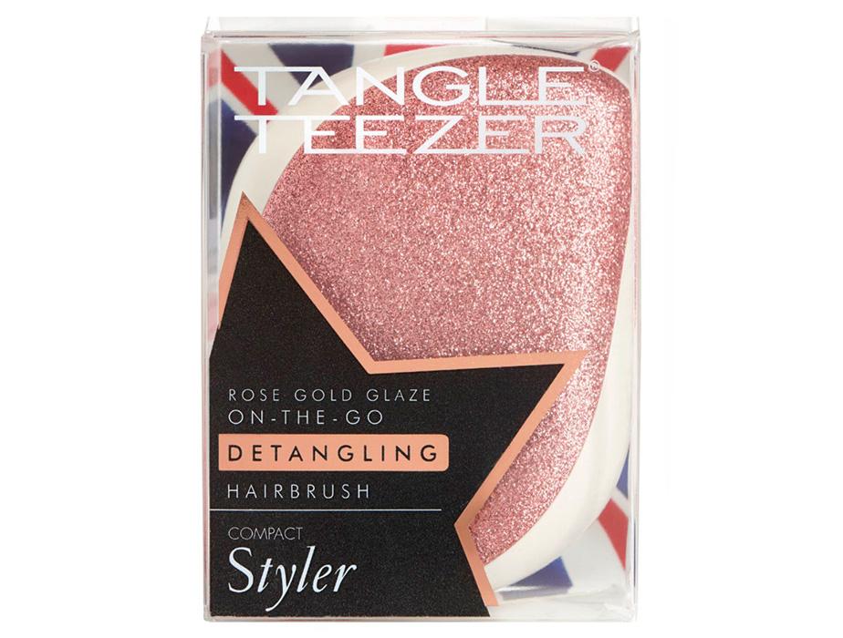 Расческа Tangle Teezer Compact Styler Glitter Rose Gold Glaze - Фото №8