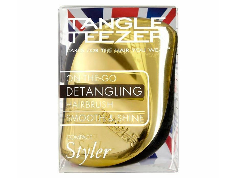 Расческа Tangle Teezer Compact Styler Gold Rush - Фото №8