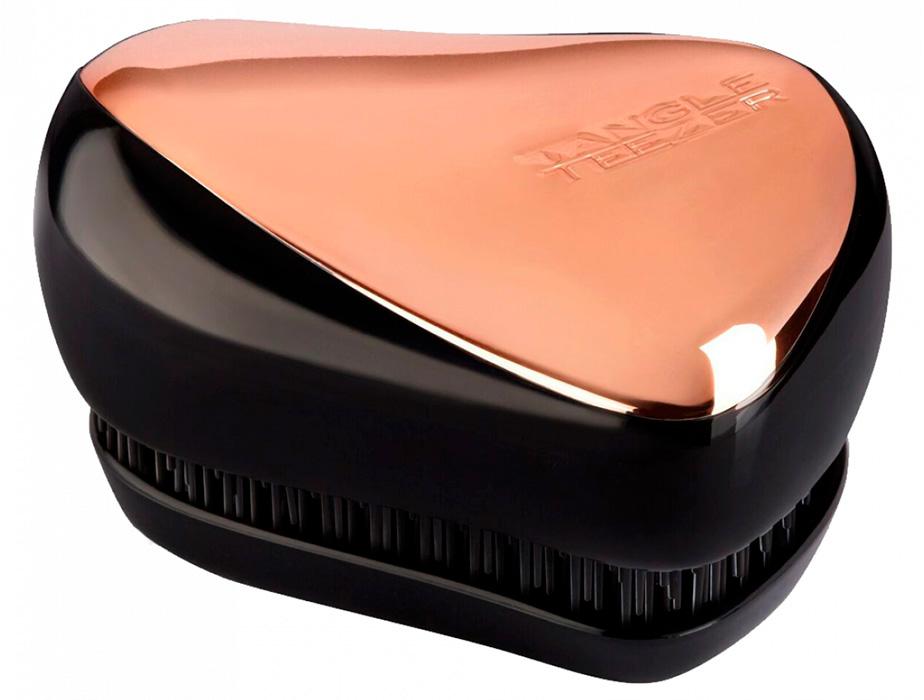 Расческа Tangle Teezer Compact Styler Rose Gold Black - Фото №7