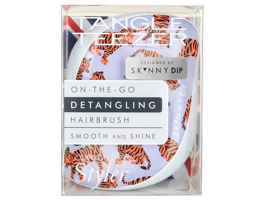 Расческа Tangle Teezer Compact Styler Skinny Dip Trendy Tiger - Фото №8