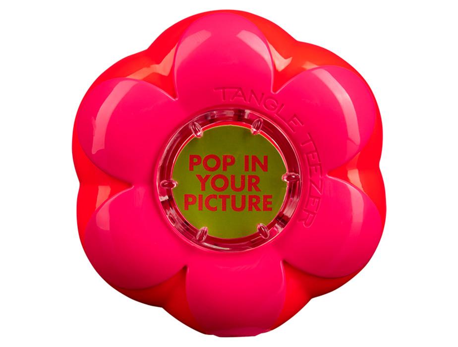 Детская расческа Tangle Teezer Magic Flowerpot Orange Pink - Фото №4