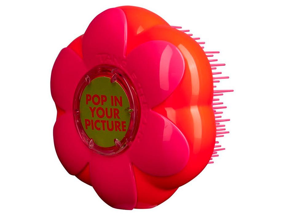 Детская расческа Tangle Teezer Magic Flowerpot Orange Pink - Фото №5