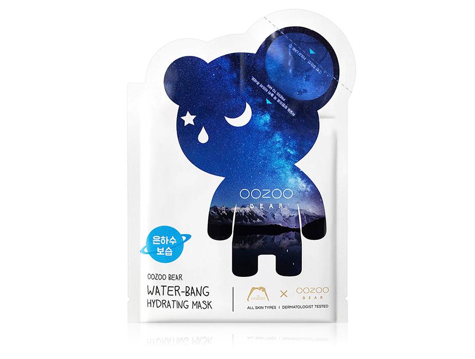 Маска для глубокого увлажнения кожи лица The Oozoo Bear Water-Bang Hydrating Mask