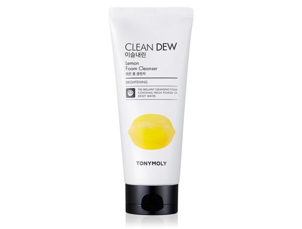 Пенка для умывания Лимон Tony Moly Clean Dew Foam Cleanser Lemon, 180мл - Фото №1