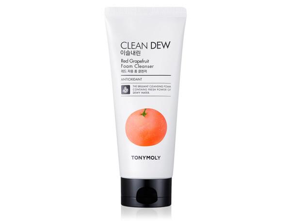 Пенка для умывания Красный грейпфрут Tony Moly Clean Dew Foam Cleanser Red Grapefruit, 180мл - Фото №1