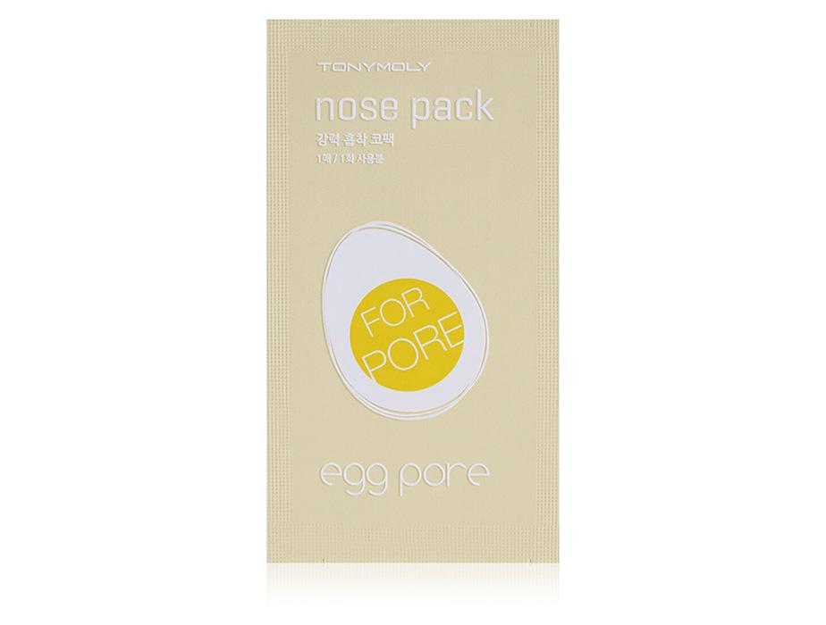 Очищающие полоски для носа от черных точек Tony Moly Egg Pore Nose Pack, 1шт - Фото №1