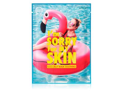 Маска для лица после пребывания на солнце Ultru I'm Sorry For My Skin S.O.S Jelly Mask — Soothing - Фото №1