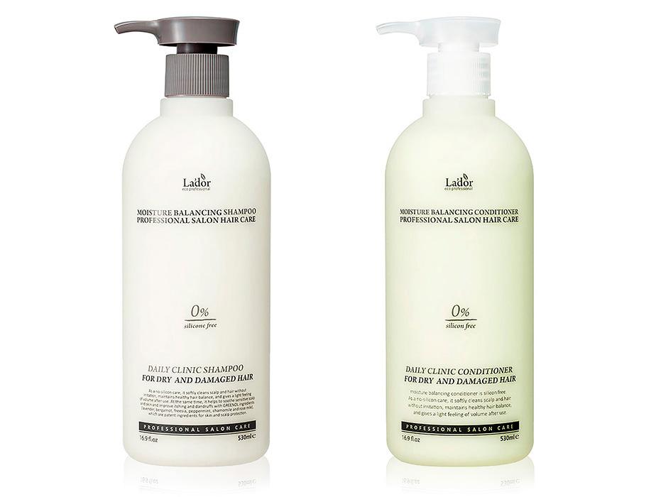 Набор для увлажнения и ежедневного ухода за волосами Lador