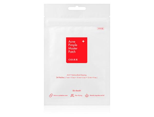 Противовоспалительные гидроколлоидные патчи от акне Cosrx Acne Pimple Master Patch, 24шт - Фото №1