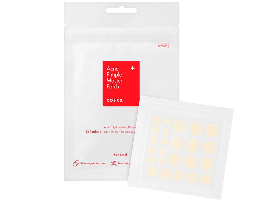 Противовоспалительные гидроколлоидные патчи от акне Cosrx Acne Pimple Master Patch, 24шт - Фото №2