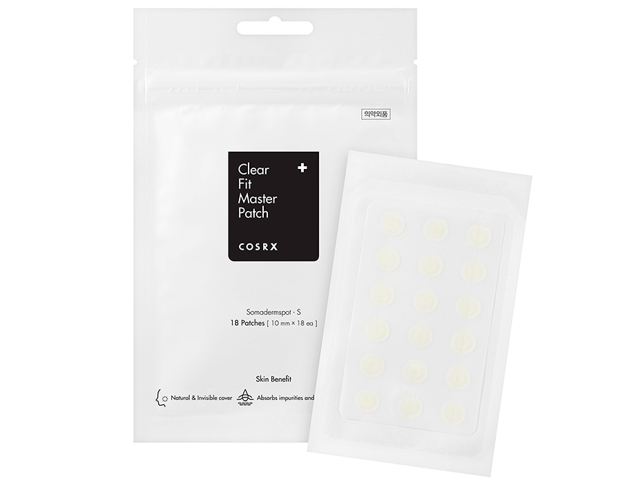 Гидрогелевые пластыри от воспалений Cosrx Clear Fit Master Patch, 18шт - Фото №2