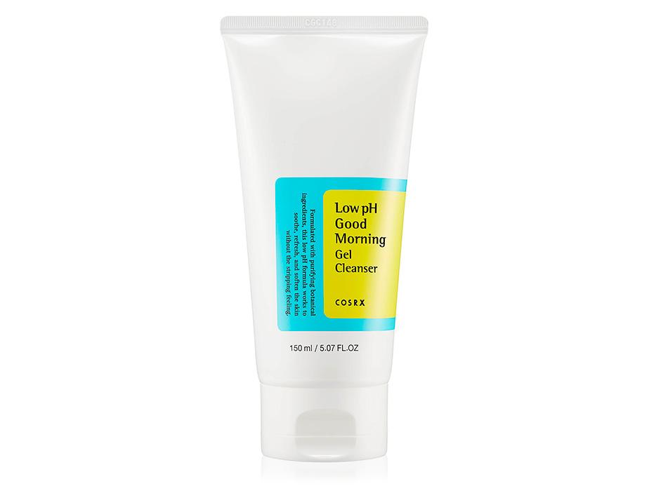 Гель-пенка для умывания с BHA-кислотами Cosrx Good Morning Low-pH Cleanser, 150мл