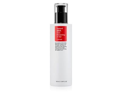 Тонер-сыворотка для проблемной кожи с прополисом и BHA-кислотами Cosrx Natural BHA Skin Returning A-Sol, 100мл - Фото №1