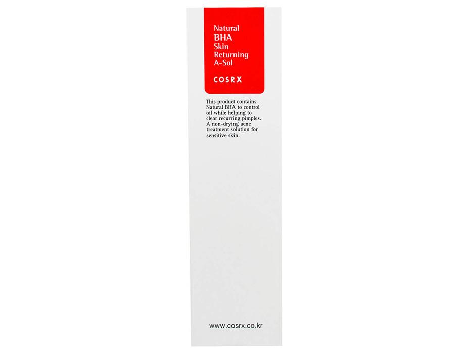 Тонер-сыворотка для проблемной кожи с прополисом и BHA-кислотами Cosrx Natural BHA Skin Returning A-Sol, 100мл - Фото №3