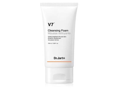 Пенка для умывания лица с двойным витаминным комплексом Dr. Jart+ V7 Cleansing Foam, 100мл - Фото №1