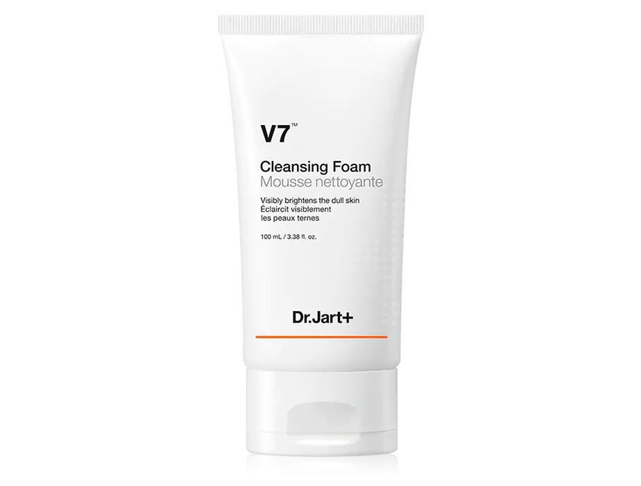 Пенка для умывания лица с двойным витаминным комплексом Dr. Jart+ V7 Cleansing Foam, 100мл