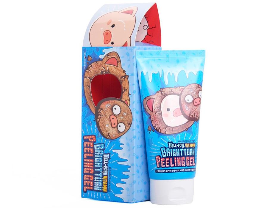Витаминный пилинг-гель для лица Elizavecca Hell-Pore Vitamin Brightturn Peeling Gel, 150мл - Фото №3