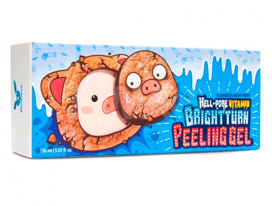 Витаминный пилинг-гель для лица Elizavecca Hell-Pore Vitamin Brightturn Peeling Gel, 150мл - Фото №4