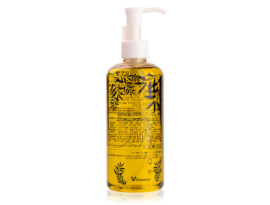 Гидрофильное масло для лица Elizavecca Natural 90% Olive Cleansing Oil, 300мл