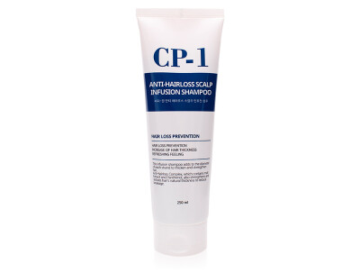 Шампунь против выпадения волос Esthetic House CP-1 Anti-Hair Loss Scalp Infusion Shampoo, 250мл - Фото №1