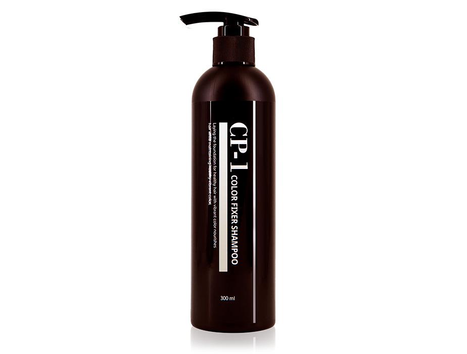 Шампунь для защиты цвета окрашенных и тонированных волос Esthetic House CP-1 Color Fixer Shampoo, 300мл