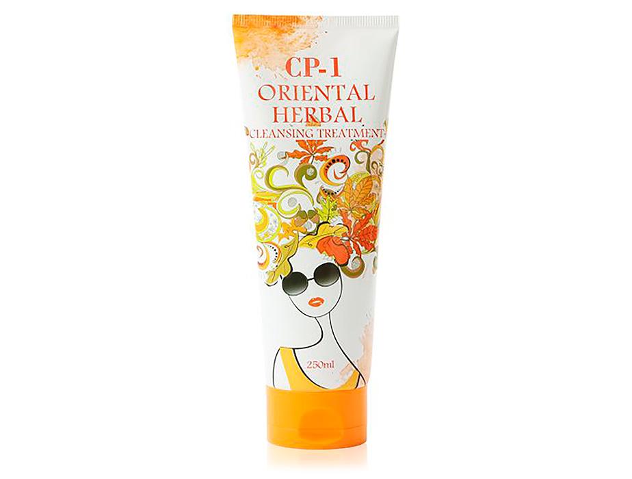 Парфюмированная маска для тонких и ослабленных волос Esthetic House CP-1 Oriental Herbal Cleansing Treatment, 250мл