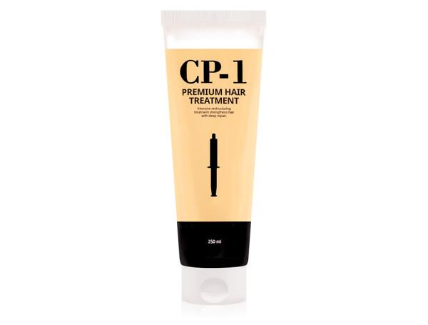 Восстанавливающая протеиновая маска для волос Esthetic House CP-1 Premium Hair Treatment, 250мл - Фото №1