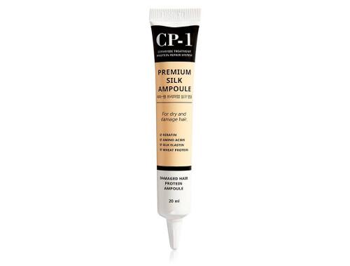 Несмываемая сыворотка для волос с протеинами шелка Esthetic House CP-1 Premium Silk Ampoule, 20мл