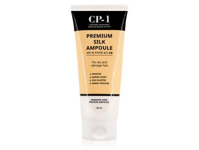 Несмываемая сыворотка для волос с протеинами шелка Esthetic House CP-1 Premium Silk Ampoule, 150мл - Фото №1