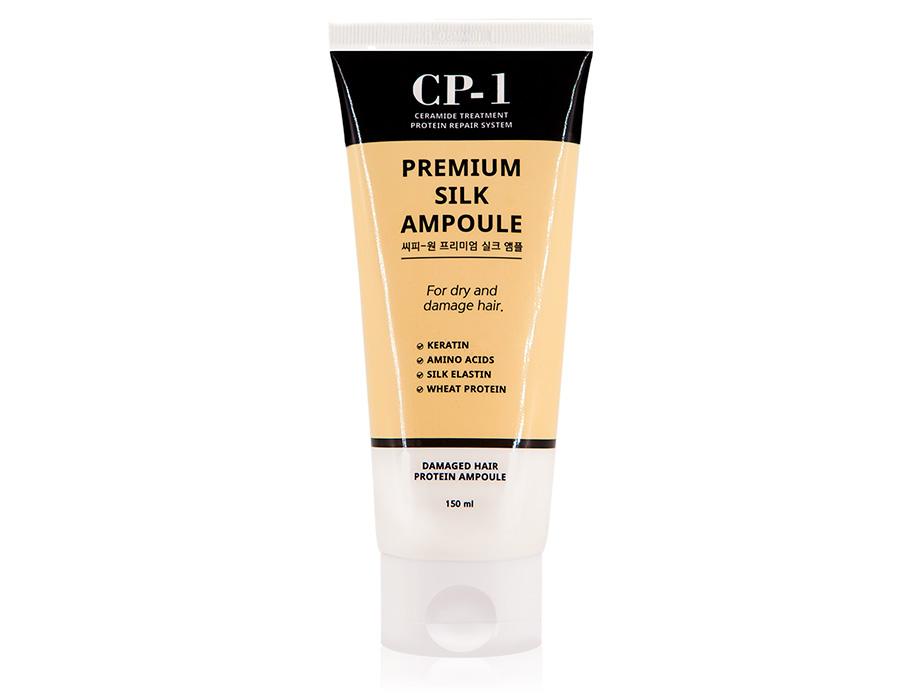 Несмываемая сыворотка для волос с протеинами шелка Esthetic House CP-1 Premium Silk Ampoule, 150мл
