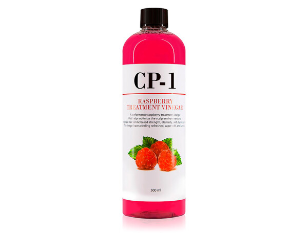 Кондиционер-ополаскиватель для волос на основе малинового уксуса Esthetic House CP-1 Raspberry Treatment Vinegar, 500мл - Фото №1