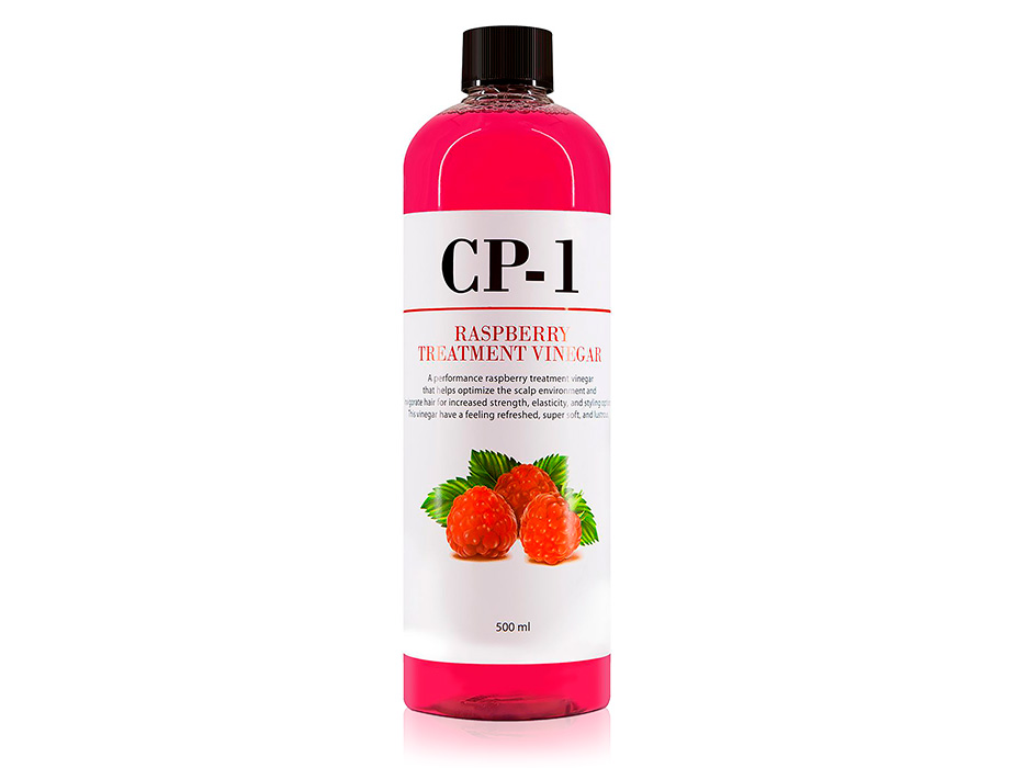 Кондиционер-ополаскиватель для волос на основе малинового уксуса Esthetic House CP-1 Raspberry Treatment Vinegar, 500мл