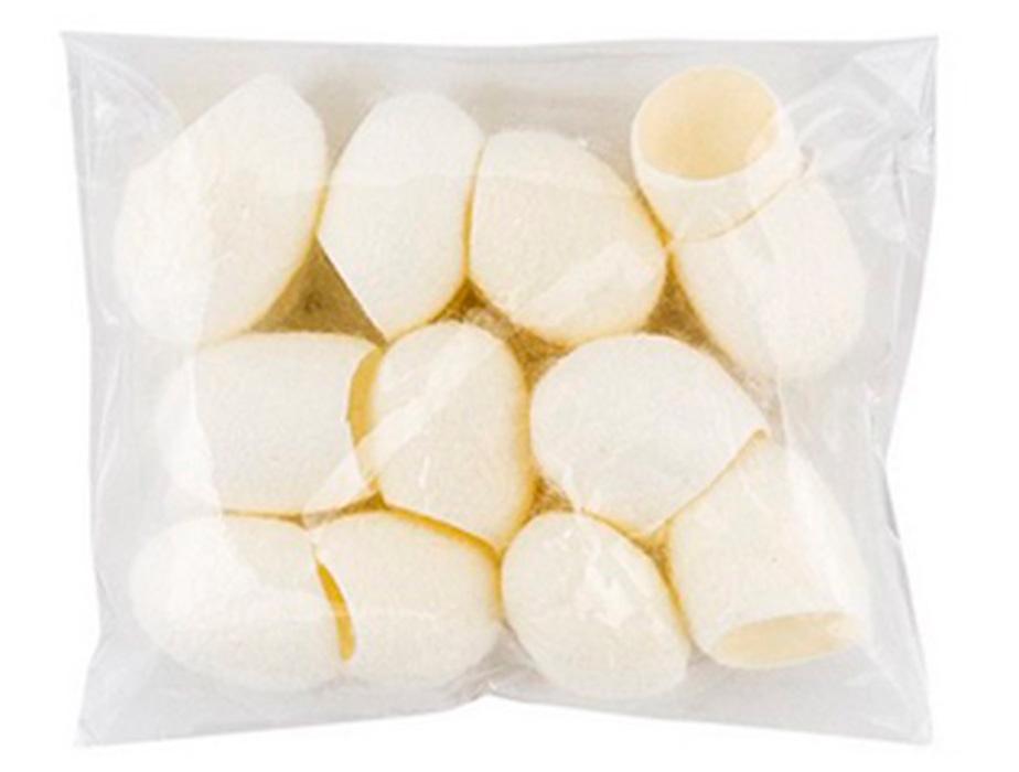 Очищающие шелковые коконы для лица Cosrx Blackhead Silk Finger Ball, 12шт - Фото №2