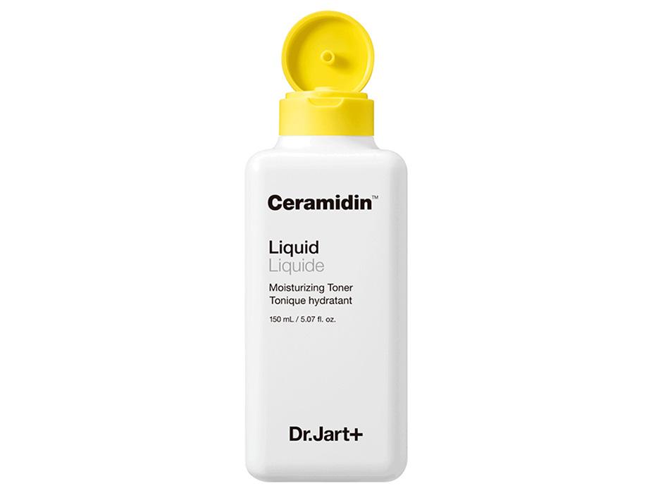 Увлажняющий тонер для лица с керамидами Dr. Jart+ Ceramidin Liquid Moisturizing Toner, 150мл - Фото №3