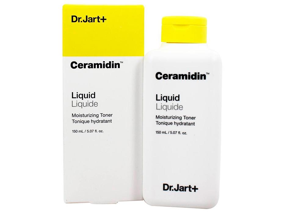 Увлажняющий тонер для лица с керамидами Dr. Jart+ Ceramidin Liquid Moisturizing Toner, 150мл - Фото №4