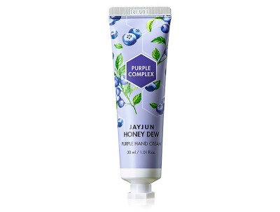 Крем для рук Jayjun Honey Dew Purple Hand Cream, 30мл - Фото №1