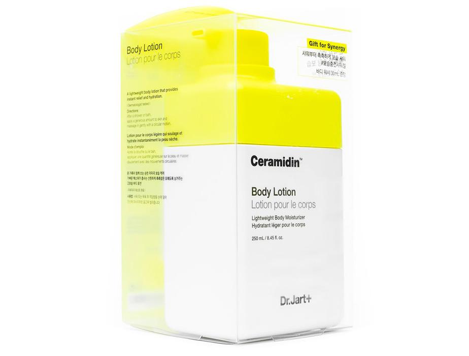 Набор: Лосьон для тела с керамидами + Гель для душа Dr. Jart+ Ceramidin Body Lotion + Ceramidin Body Wash, 250мл + 30мл - Фото №2
